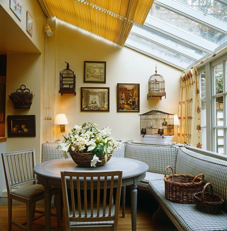 Solarium dining room