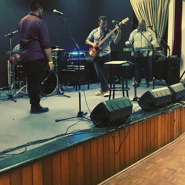 Sound check for drums, bass n guitar before our gig last night.  #KGROOVENOW kgroovenow,  band, K-GROOVE-NOW, KGN