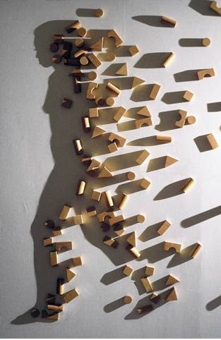 Light and Shadow – light sculptures by artist Kumi Yamashita