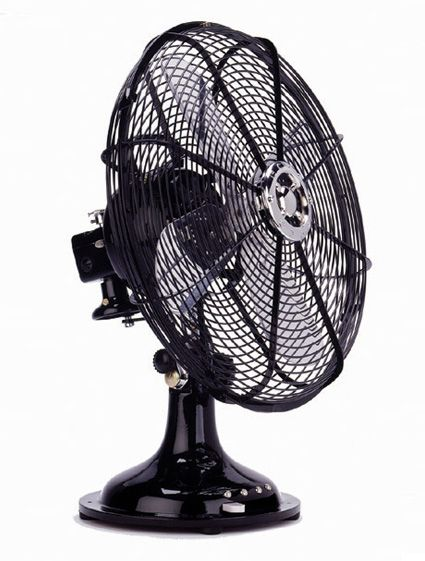 Ecco Fuoriserie 300 Retro Heavy Duty Desk Fan (Many Colors) Cool Off In  Style With This Handmade Desk Fan. A New Twist On A Timeless Design, ...