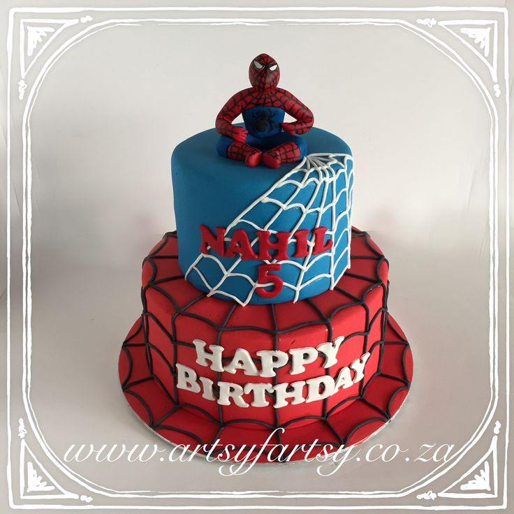 Spider-Man Cake #spidermancake