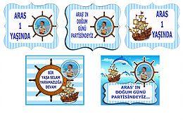 denizci dogum gunu organizasyonu fiyat, izmir, denizci dogum gunu parti fiyat, denizci magnet, seti, denizci afis, denizci cerceve, denizci kisiye ozel