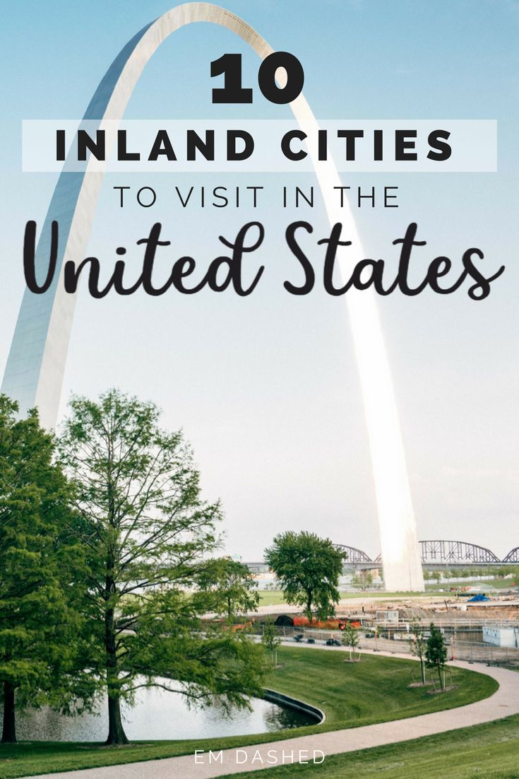 Inland USA only has to be flyover country if you treat it that way. Here are 10 American cities worth traveling inland for -- whether you're visiting from abroad or planning a summer road trip down route 66. Pittsburgh to Chattanooga, Midwest to Southwest, there's almost guaranteed to be a city here you haven't seen yet. | #USA #UnitedStates | Photo by Joshua Ness