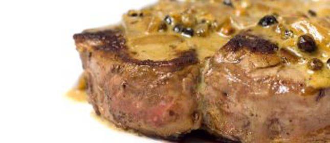 Filet Mignon al brandy con salsa de mostaza - Cocina y Vino