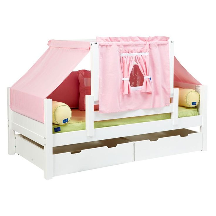 Yo Panel Girl Tent Daybed Pink and White Tent - MXTX209-2