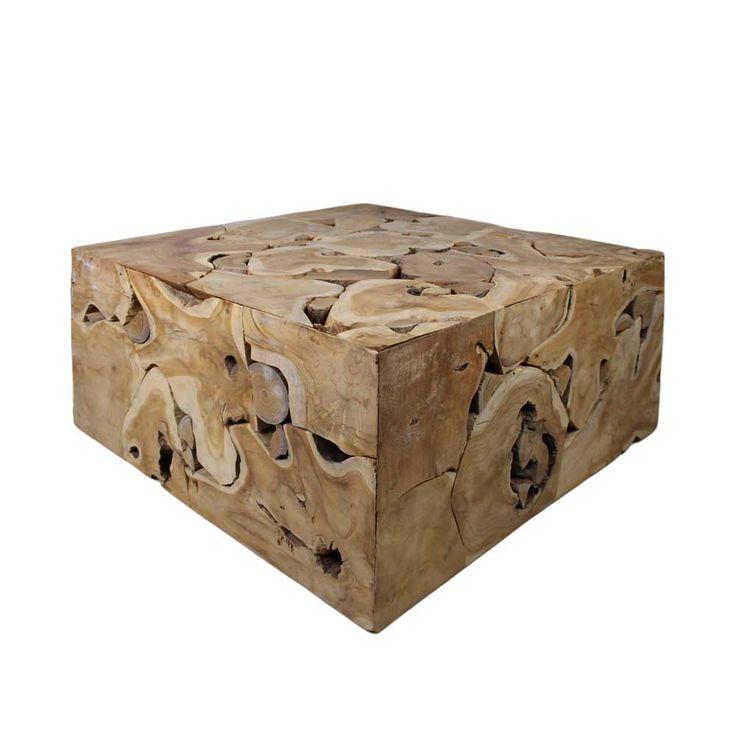 Wohnzimmertisch Aus Teak Wurzelholz Block Design Jetzt Bestellen Unter Moebelladendirektde Wohnzimmer Tische Beistelltische Uid6695fab