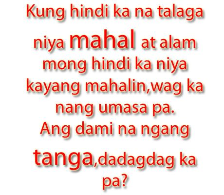 Heart Broken Sad Tagalog Love Quotes