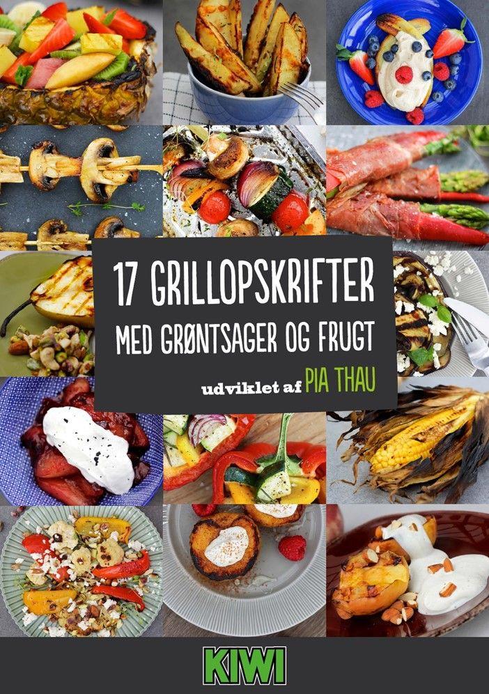 17 Grillopskrifter udviklet af med grøntsager og frugt