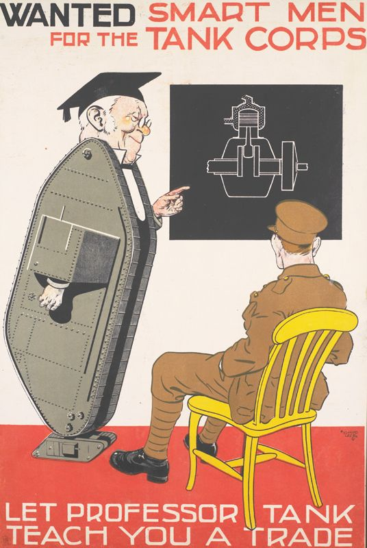 British recruitment poster. WW1