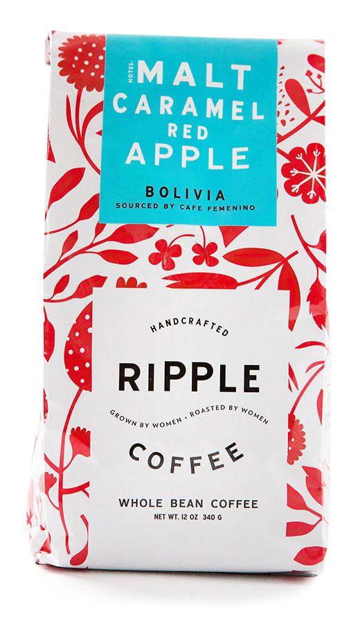 #textileart #textiledesign #printandpattern \\ Textiles on coffee packaging
