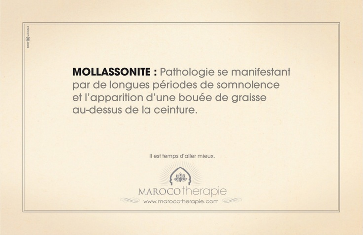 Office National Marocain du Tourisme - Marocothérapie - MOLLASSONITE