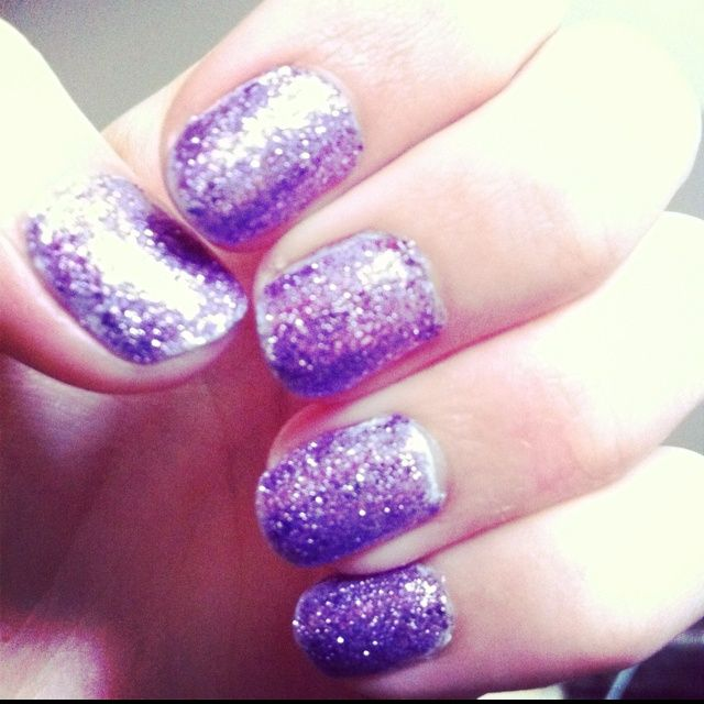 Awesome Purple Things | Sparkley purple!!! Awesome!! | Pretty Nails