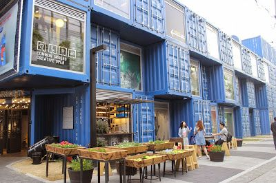 GOODLOVE TRAVELLING OF KOREA: Common Ground, Pop-Up container Mall in Seoul, New Attempt to the pioneering spirit