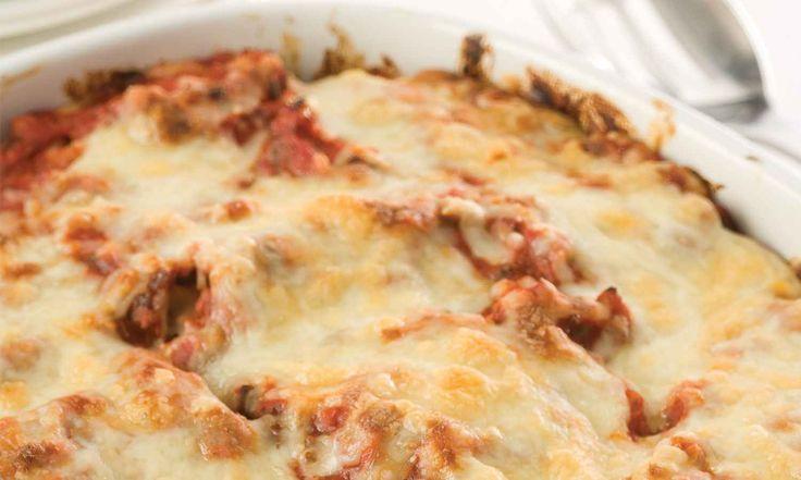 Cette version plus légère et plus santé de lasagne est toujours bien reçue. Servez-la accompagné de pain crouté et de salade césar. | Le Poulet du Québec