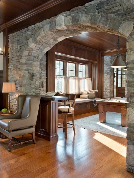 25 best stone archway ideas on pinterest - Archway designs for interior walls ...
