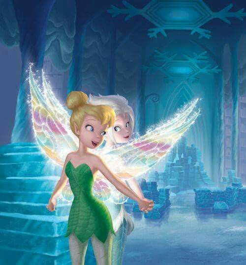 Sisters born of the same Laugh. Tinkerbell and Periwinkle