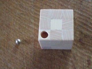 Echt #knifflig ist dieses #DIY #Rätsel - wer #führt die #Kugel durch das #Labyrinth?  #DIY #Holz #Anleitung #Geduldsspiel