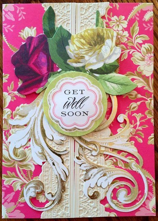 Anna Griffin Get Well Soon Card Https://www.pinterest.com/