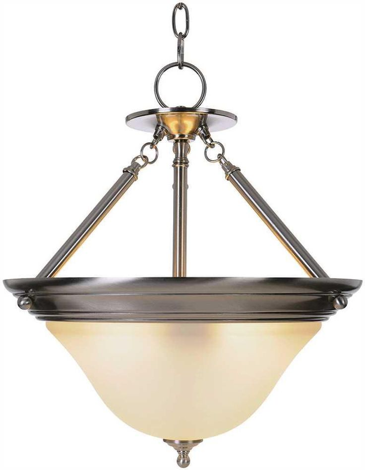 SONOMA™ PENDANT FIXTURE WITH ONE 40 WATT COMPACT TYPE FLUORESCENT LAMP, 15-1/2 IN.