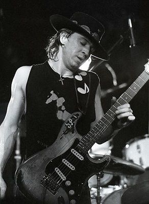 Stevie Ray Vaughan. I saw him a month before he passed away...1990?