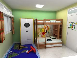 interior kamar anak2