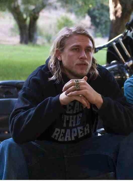 Charlie Hunnam as Jax in Sons of Anarchy, SAMCRO, SOA ...