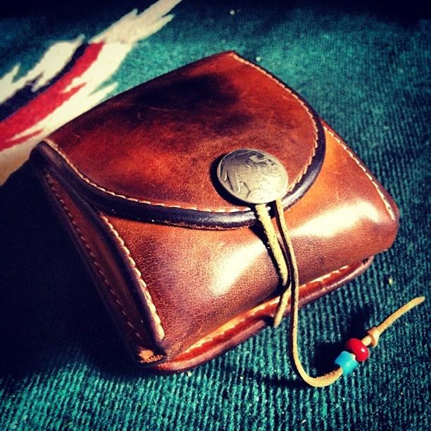 """ゴローズ 二つ折り財布 """"goro's Two fold wallet"""" Indian Jewelry Blowout Sale at: http://indian--jewelry.info"""
