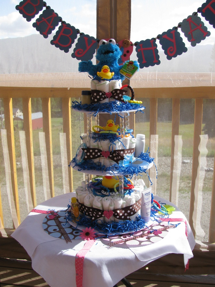 23 Best Cookie Monster Baby Shower Images On Pinterest