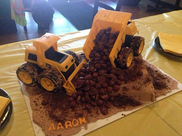Baby Shower Tonka Trucks Cakes