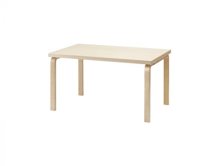 Artek table 82B by Alvar Aalto