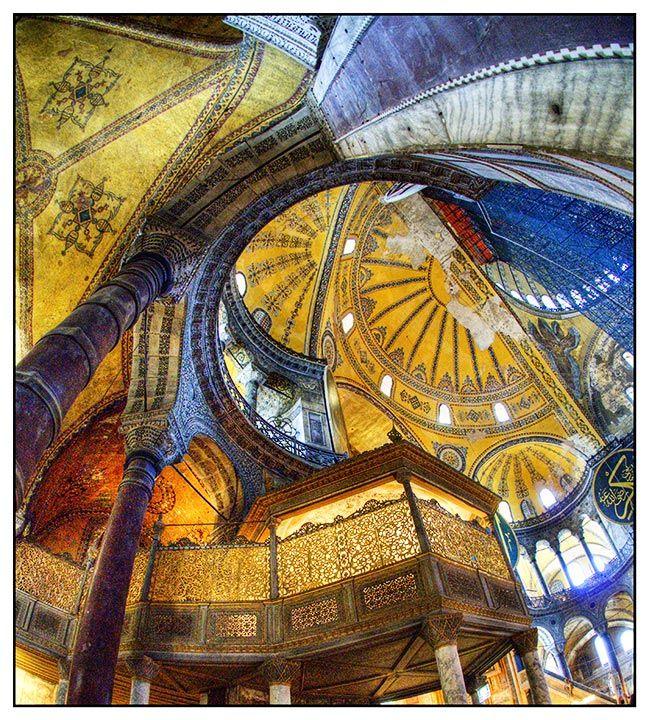 "Hagia Sophia, Istanbul by user ""Salmiakki"""