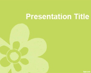 This green background for PowerPoint is a freePowerPoint Download Template that you can download today for your simple presentation slide in PowerPoint