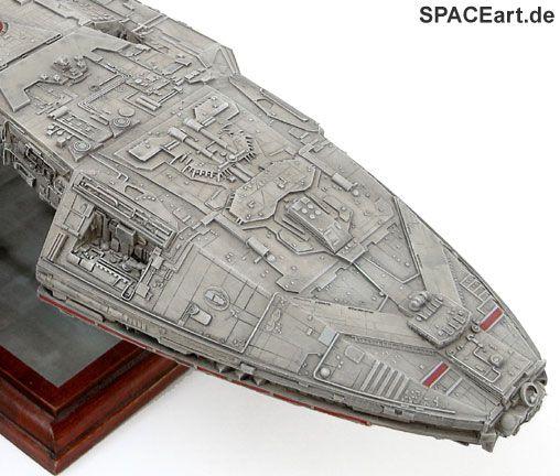 Battlestar Galactica: Galactica - HighEnd Display Modell, Fertig-Modell, http://spaceart.de/produkte/bsg006.php