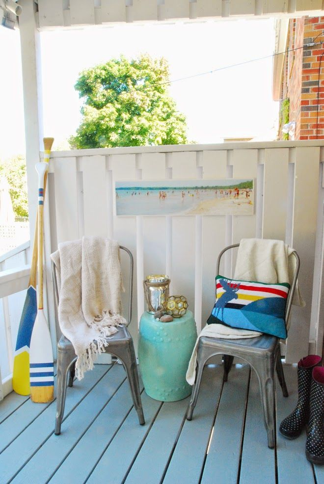 DIY Back Porch Beach Cottage Makeover !