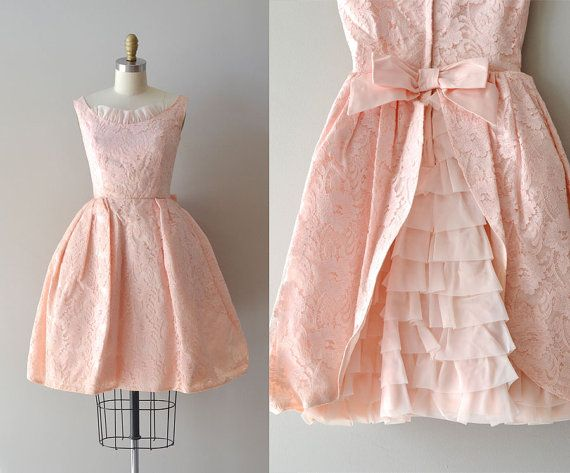 1950s dress / 50s party dress / Sugar Hiccup dress. $228.00, via Etsy.