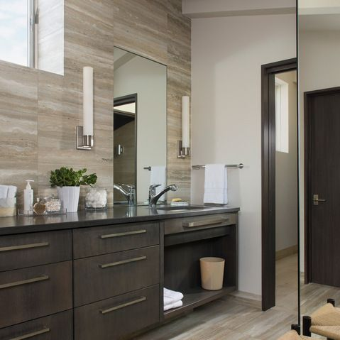 mountain modern bathroom design ideas, pictures, remodel