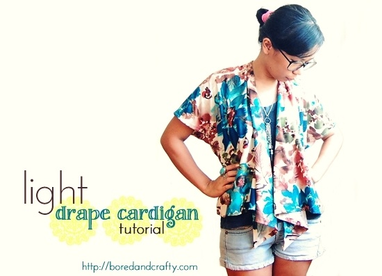ohhh making this cardigan and the halter top!!! :): Sewing Projects, Draping Cardigans, Diy Fashion, Cardigans Tutorials, Diy Clothing, Lights Draping, Diy Light, Sewing Tutorials, Bored Crafty