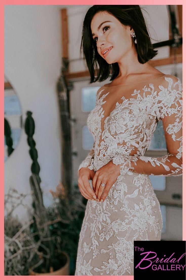 Long Sleeve Fitted Wedding Dress Wedding Dresses Long Sleeve Fitted Wedding Dresses Floral Lace Wedding Dress [ 1102 x 735 Pixel ]
