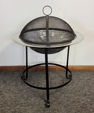 Take a look at this Tall Stainless Steel 24'' Fire Pit & Screen by Unique Arts on #zulily today!
