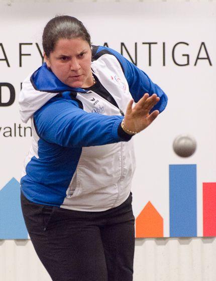 Championnat d'Europe individuel 2016 à Halmstad en Suède avec Aurdrey BANDIERA