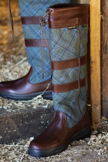 English beauty: Dubarry Carlow Tweed Boot
