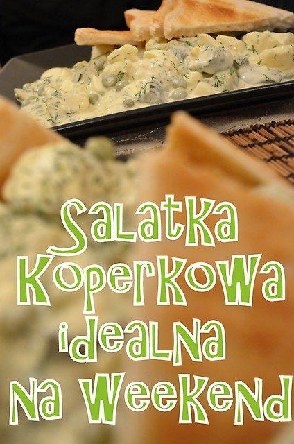 Sałatka weekendowa koperkowa - zdjęcia na FotoForum | Gazeta.pl