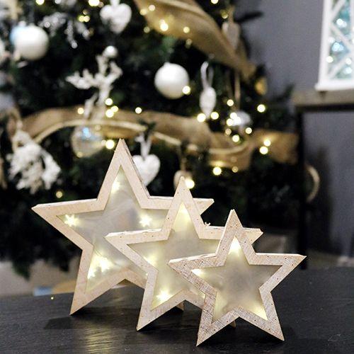 Wooden Star Lamp