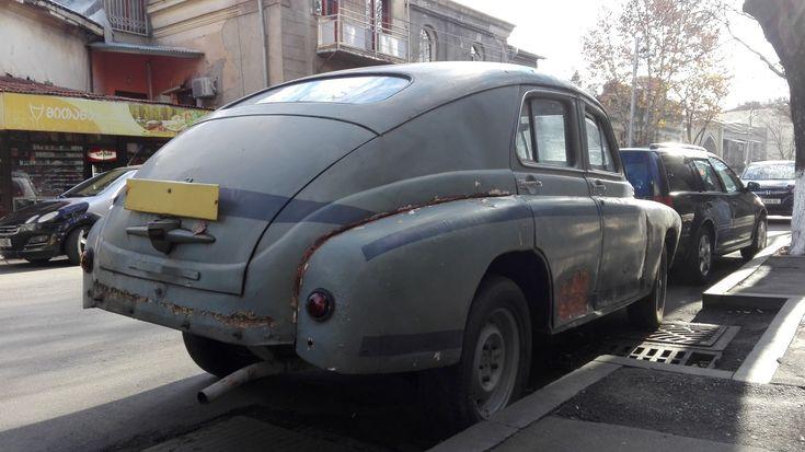 "GAZ-M20 ""Pobeda"" in Tbilisi, Georgia"