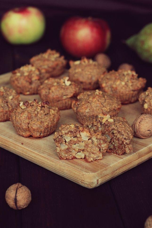 Muffinki jaglane z jabłkiem/gruszką etc.