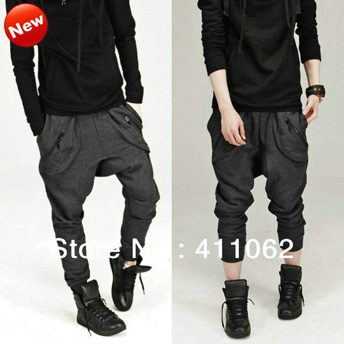 Men Women Unisex Harem Baggy Sweat Pants Athletic Sporty Casual Tapered Sport Hip Hop Dance Trousers Slacks Joggers SweatPants-in Pants & Capris from Apparel & Accessories on Aliexpress.com