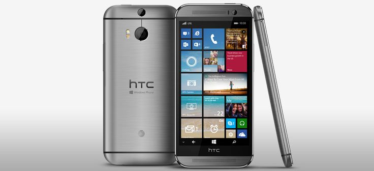 HTC One (M8) Windows Phone 8.1 Coming to AT&T