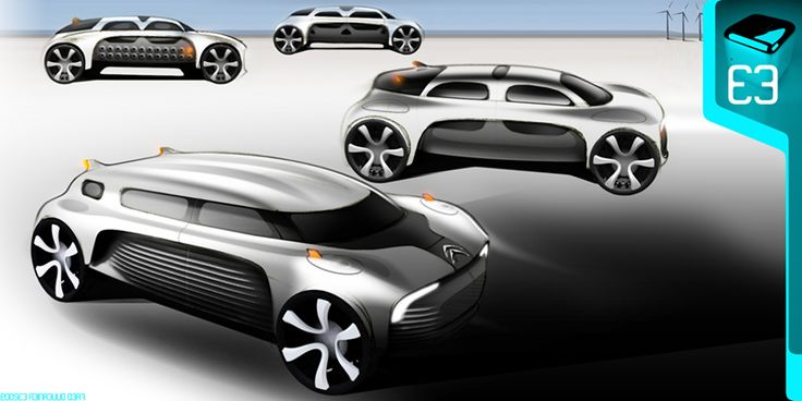 Citroën C4 Cactus Concept Sketches