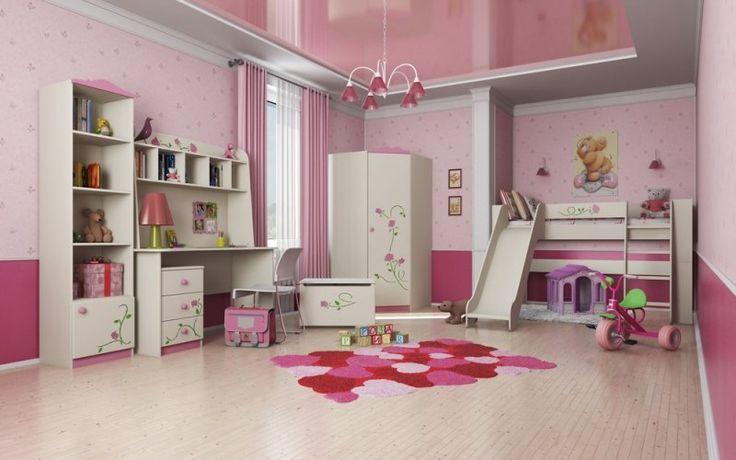 Мебель для детской Розалия, композиция № 1 Интернет магазин мебели в Краснодаре.