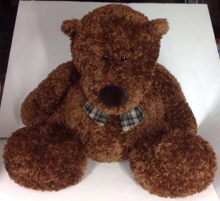 Stuffed Animal Body Pillows : Teddy Bear Plush Brown Bear Stuffed Animal Large Jumbo Giant Body Pillow Seat Plush, Animals ...